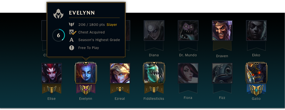 Champion Information Tooltip