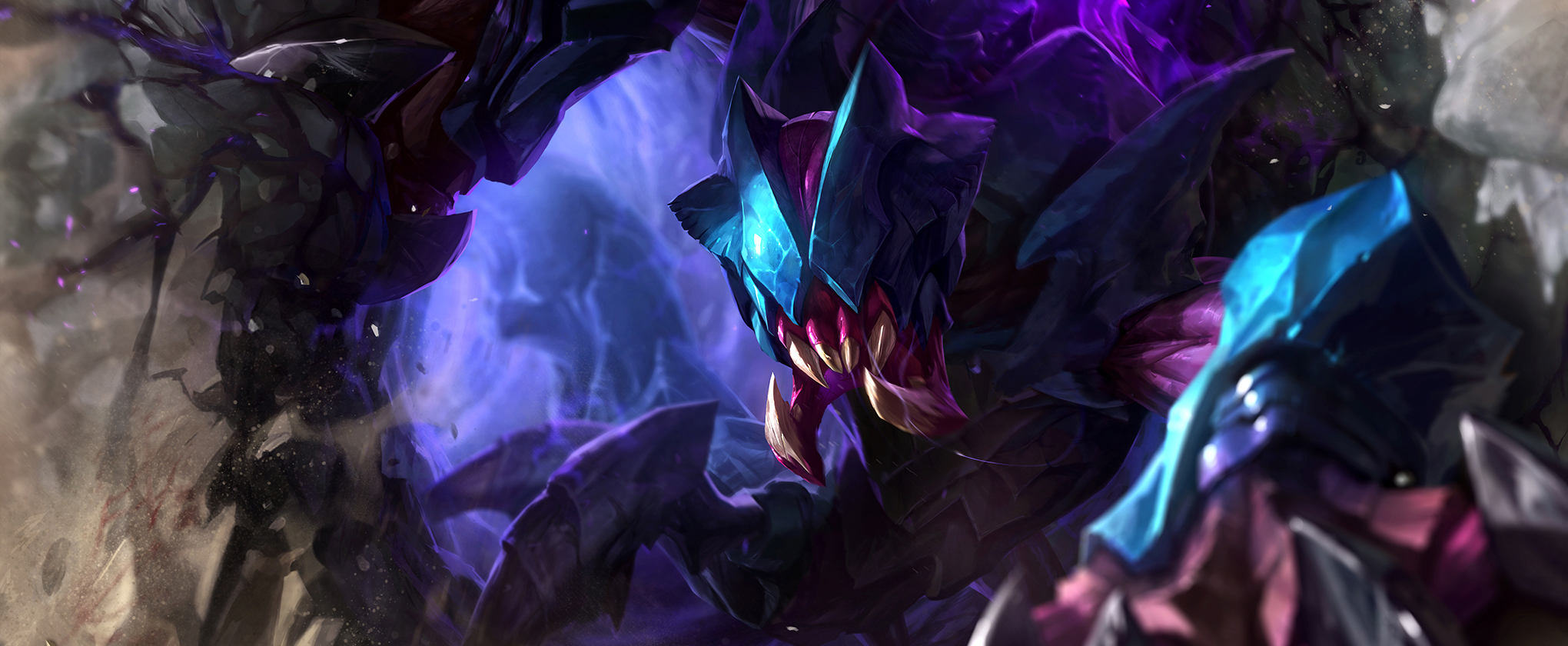 Rek'Sai Base Splash Art