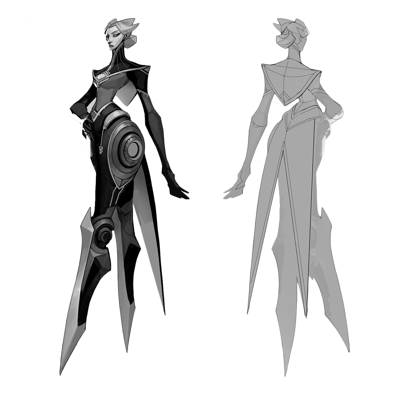 Camille concepting