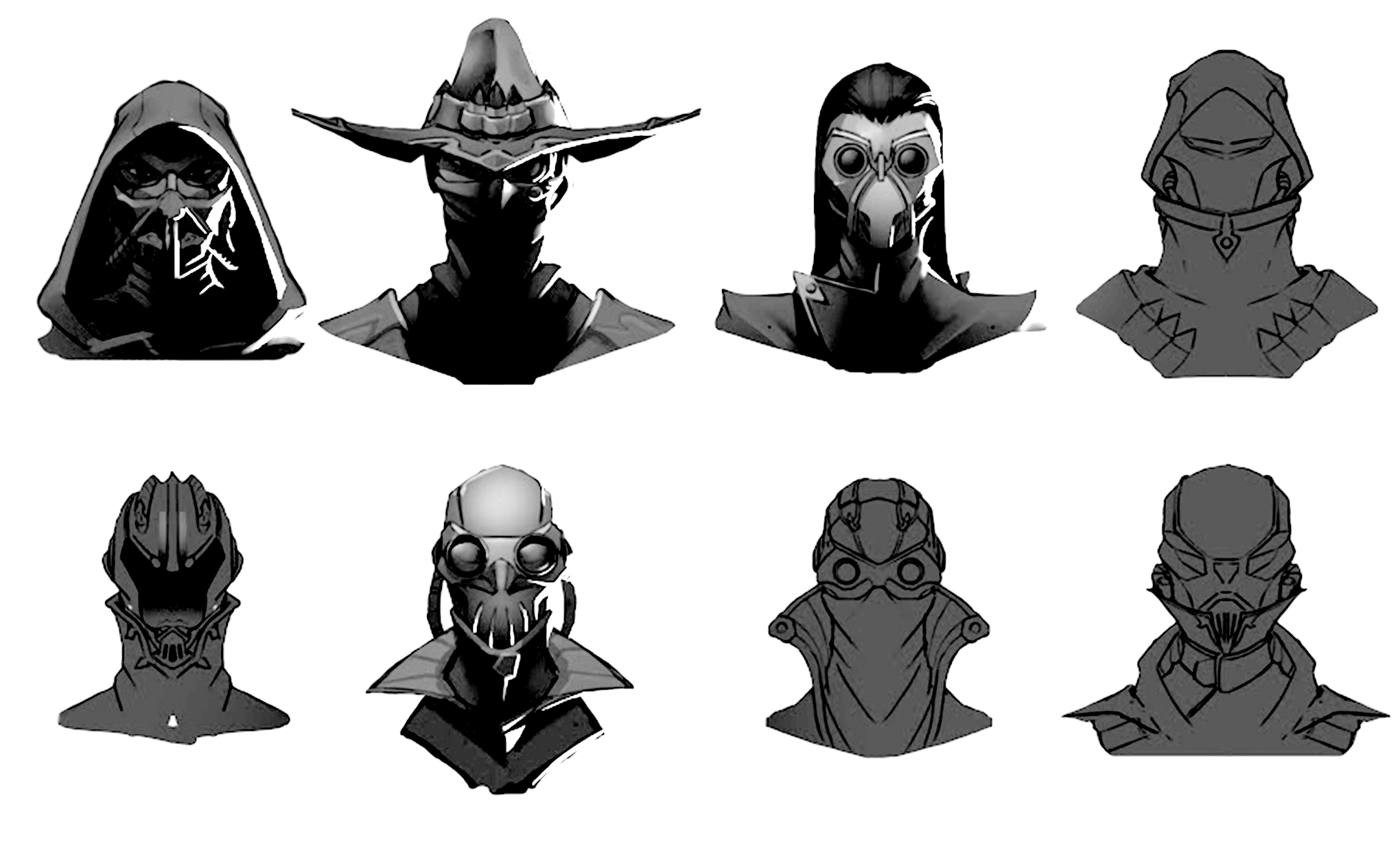 Jhin concepts
