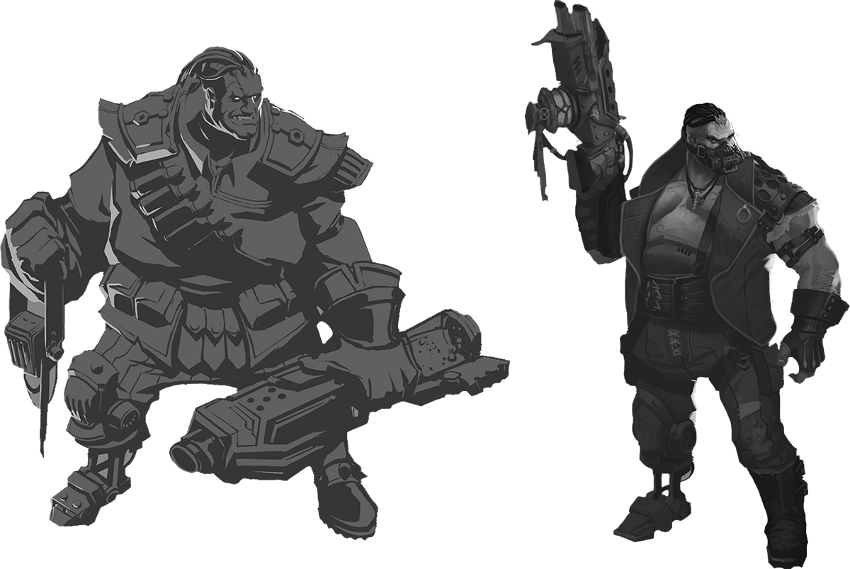 Riot's Original and Modified Versions of Boggin's Concept Art