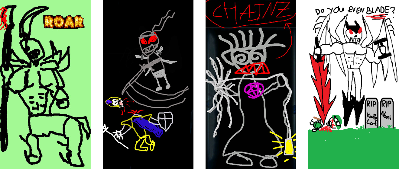 Hecarim, Zed, Thresh, and Aatrox
