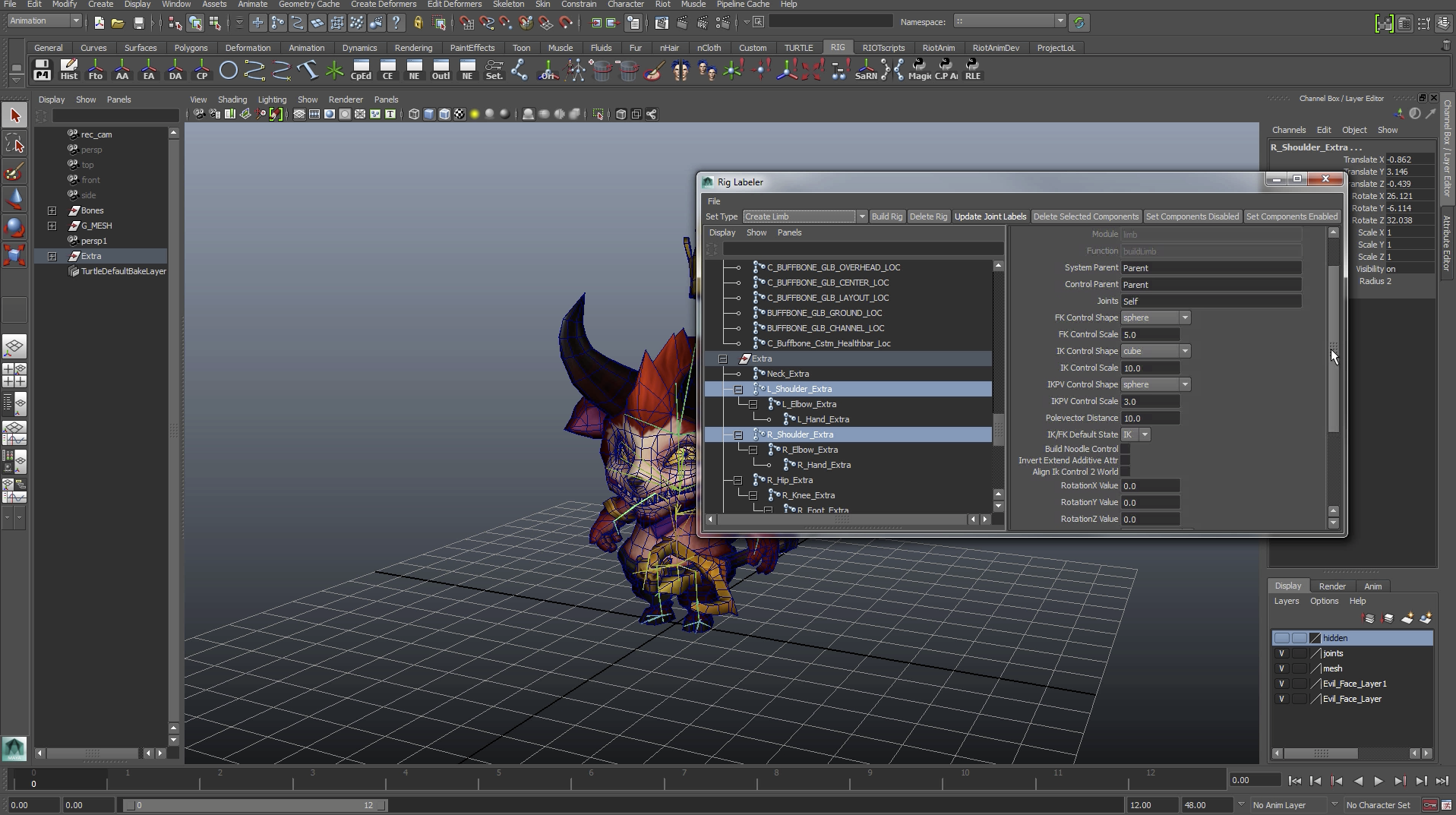 dev: Rigging Nightmares: Tech Art Meets the Devil – League of Legends