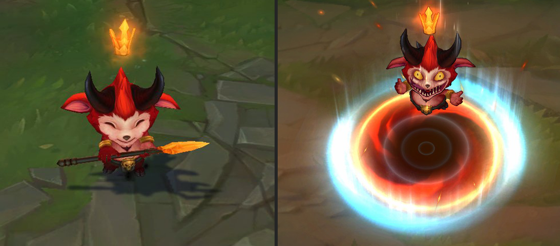 Which Teemo is the real Teemo? Runeterra may never know…