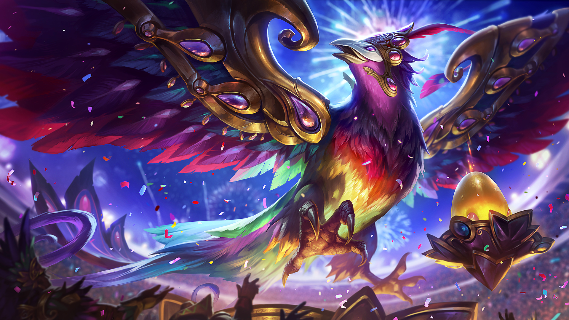 Anivia Carnaval Scaled Down