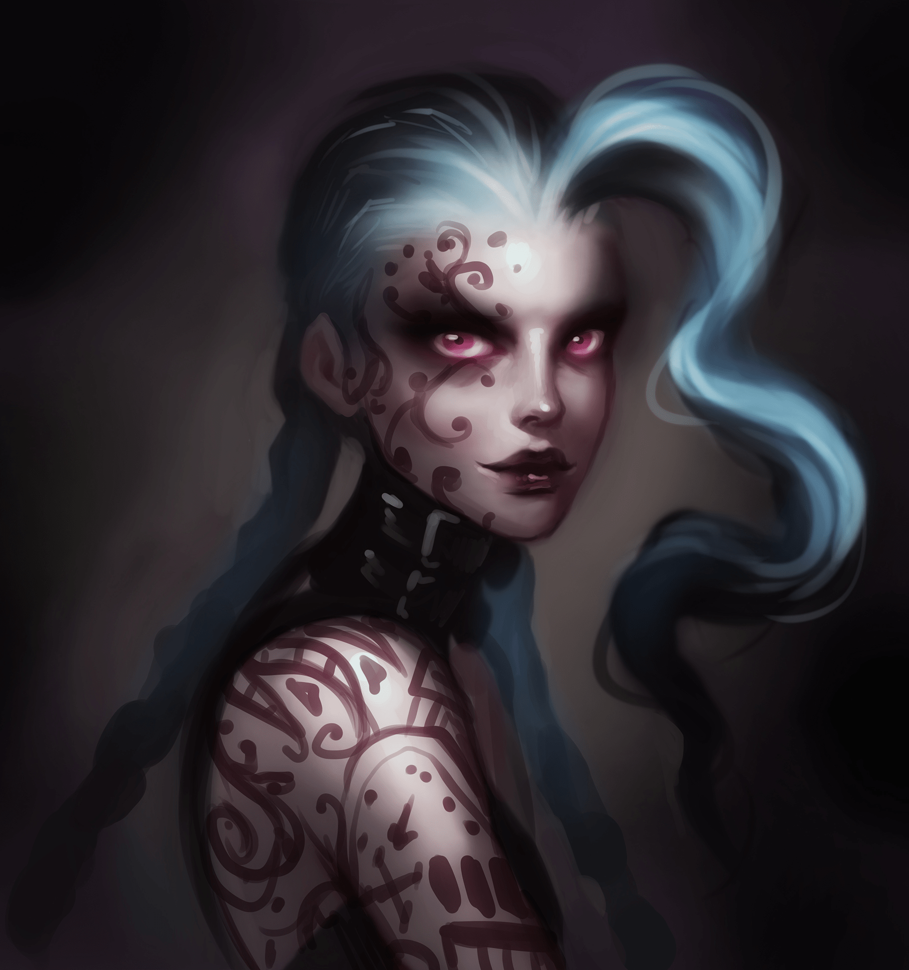 "Illustrator Katie De Sousa says, ""I think I secretly wanted Jinx to be even more evil."""
