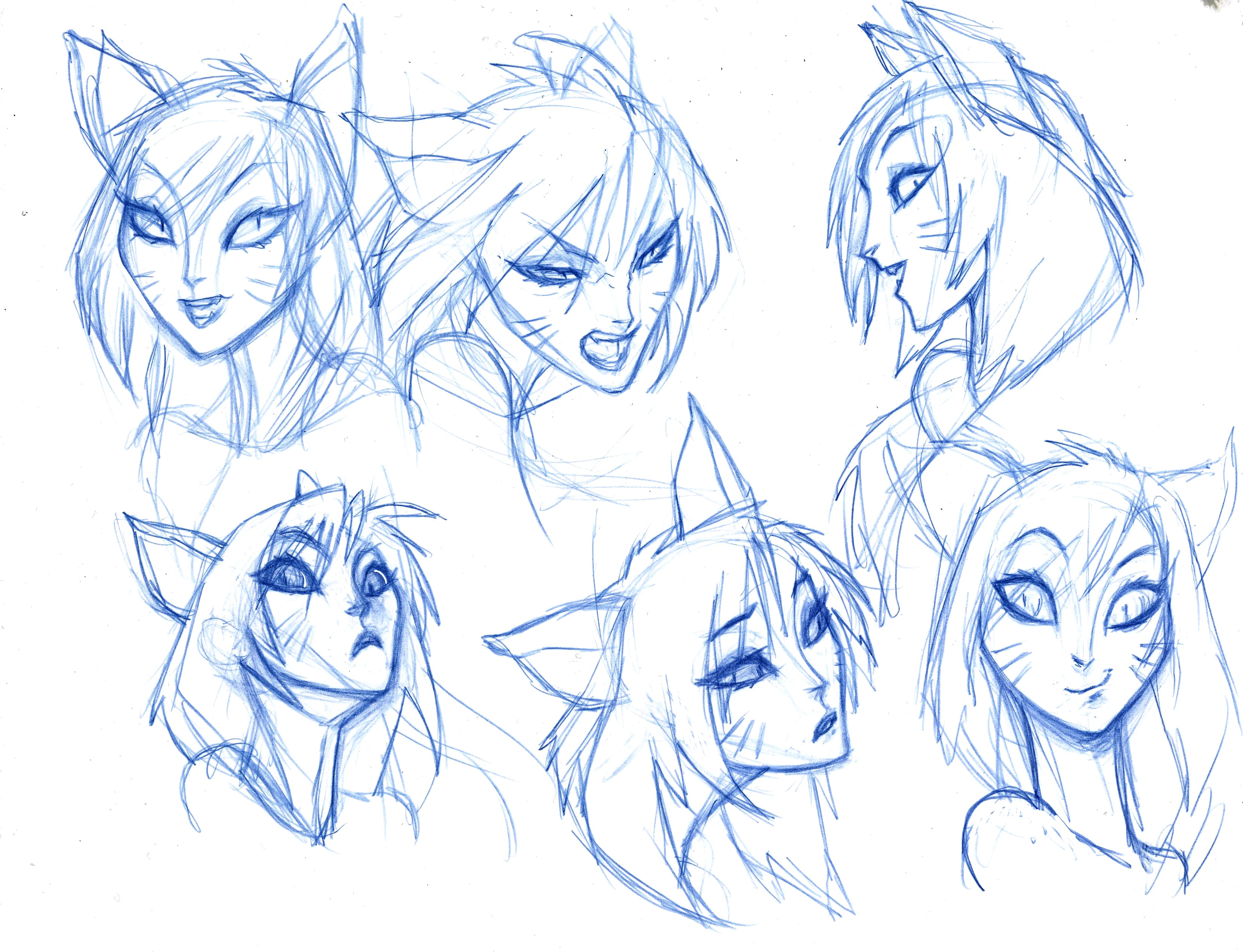 Early Facial Expression Exploration for Ahri