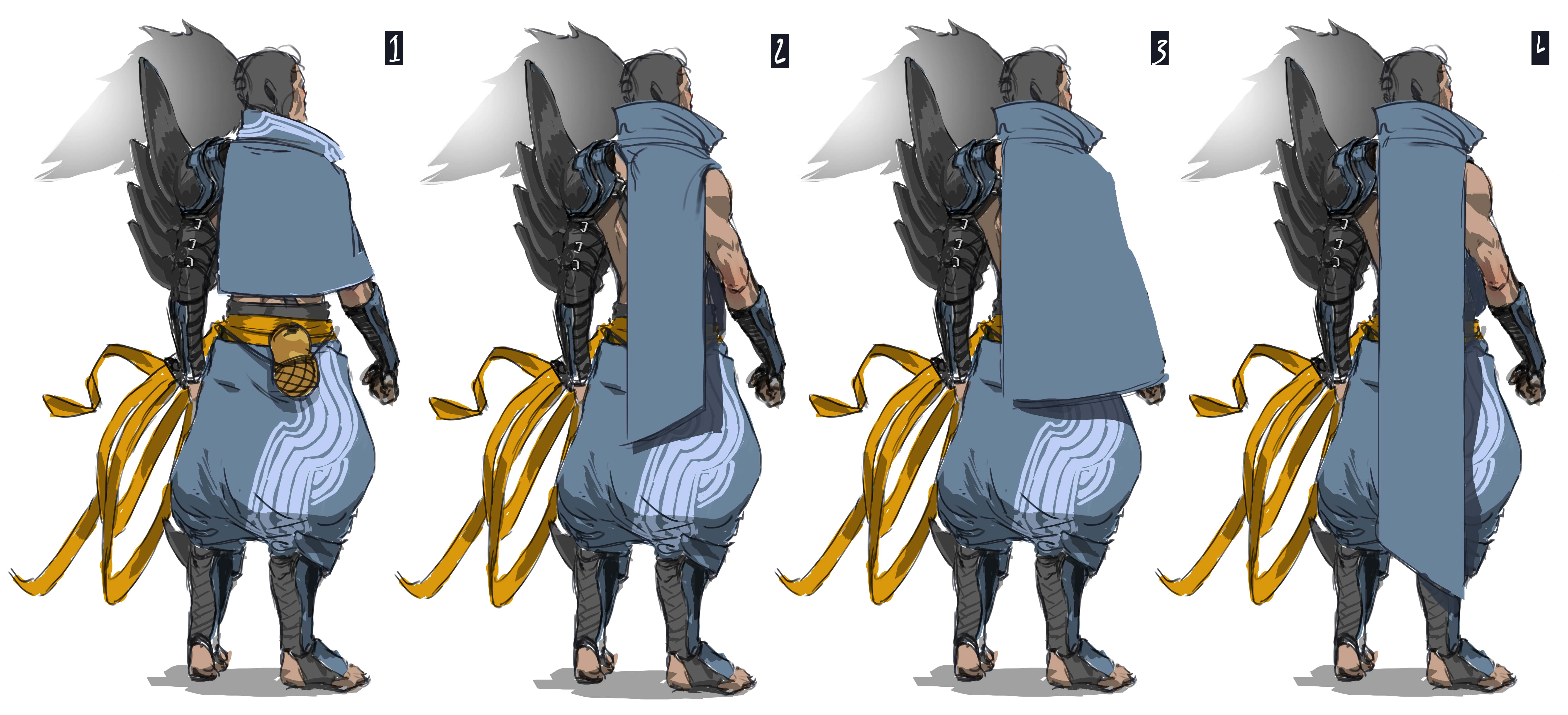 Wind Samurai Concept Exploration