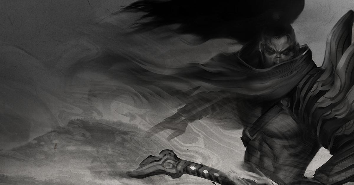 Origins Yasuo League Of Legends