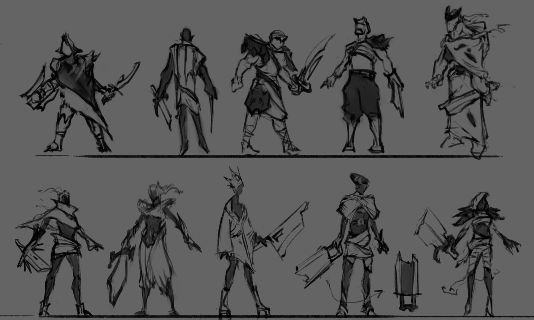Male and Female Concept Exploration