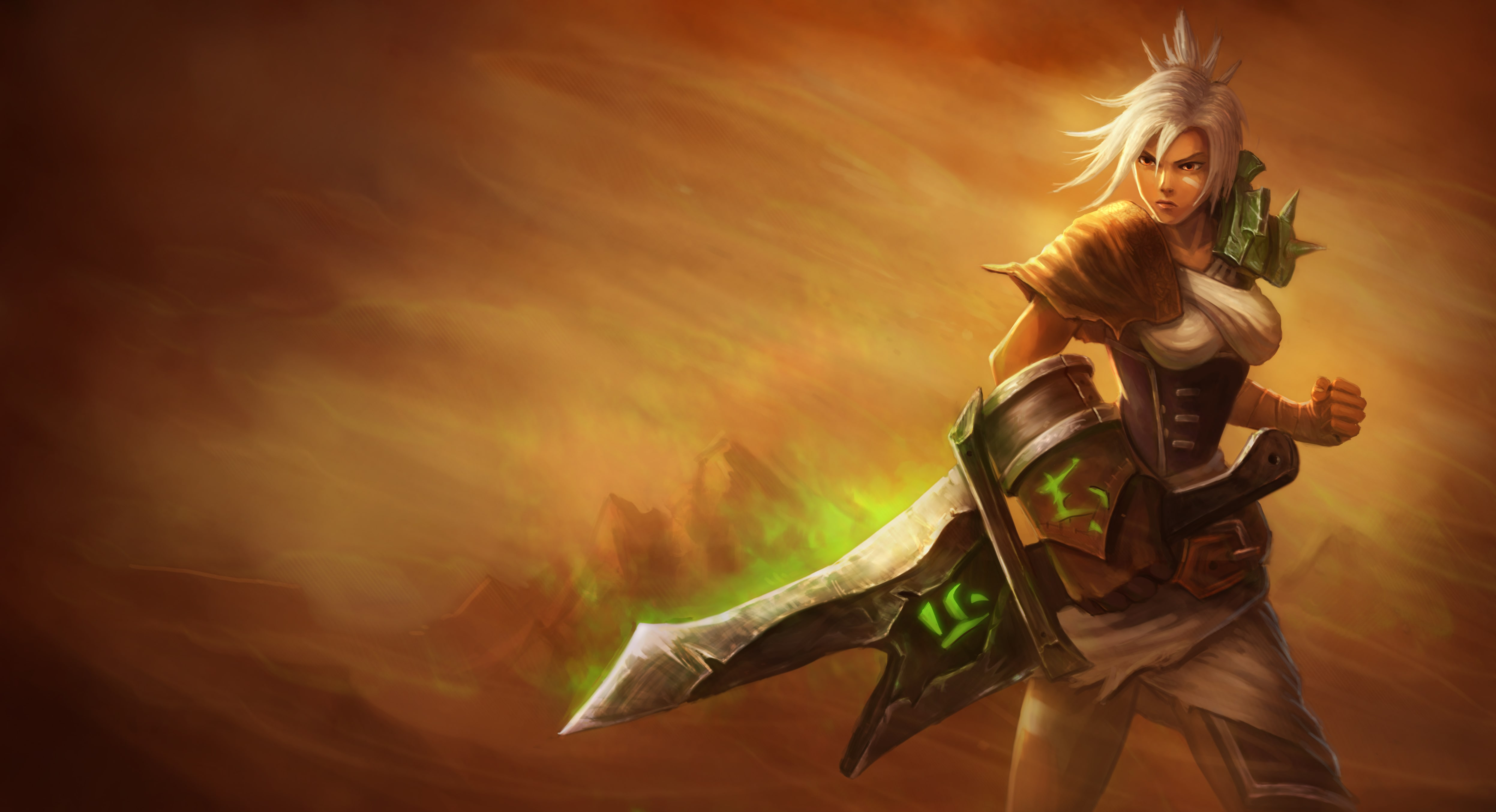 Riven's Launch Splash Art
