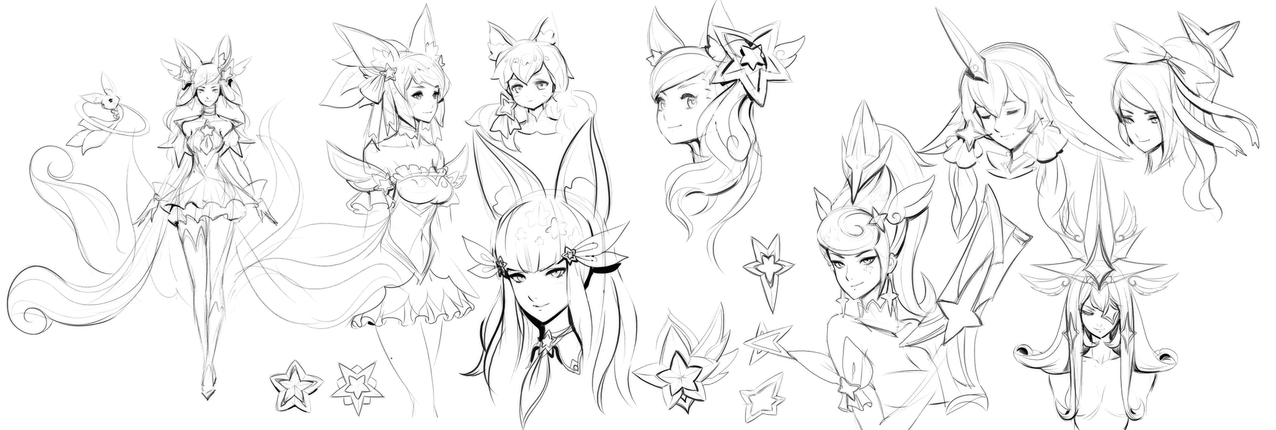 Early Exploration: Ahri, Miss Fortune, Soraka, and Syndra