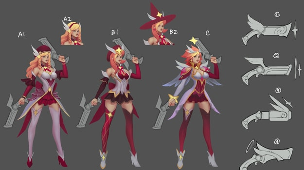 Star Guardian Miss Fortune, Early Exploration