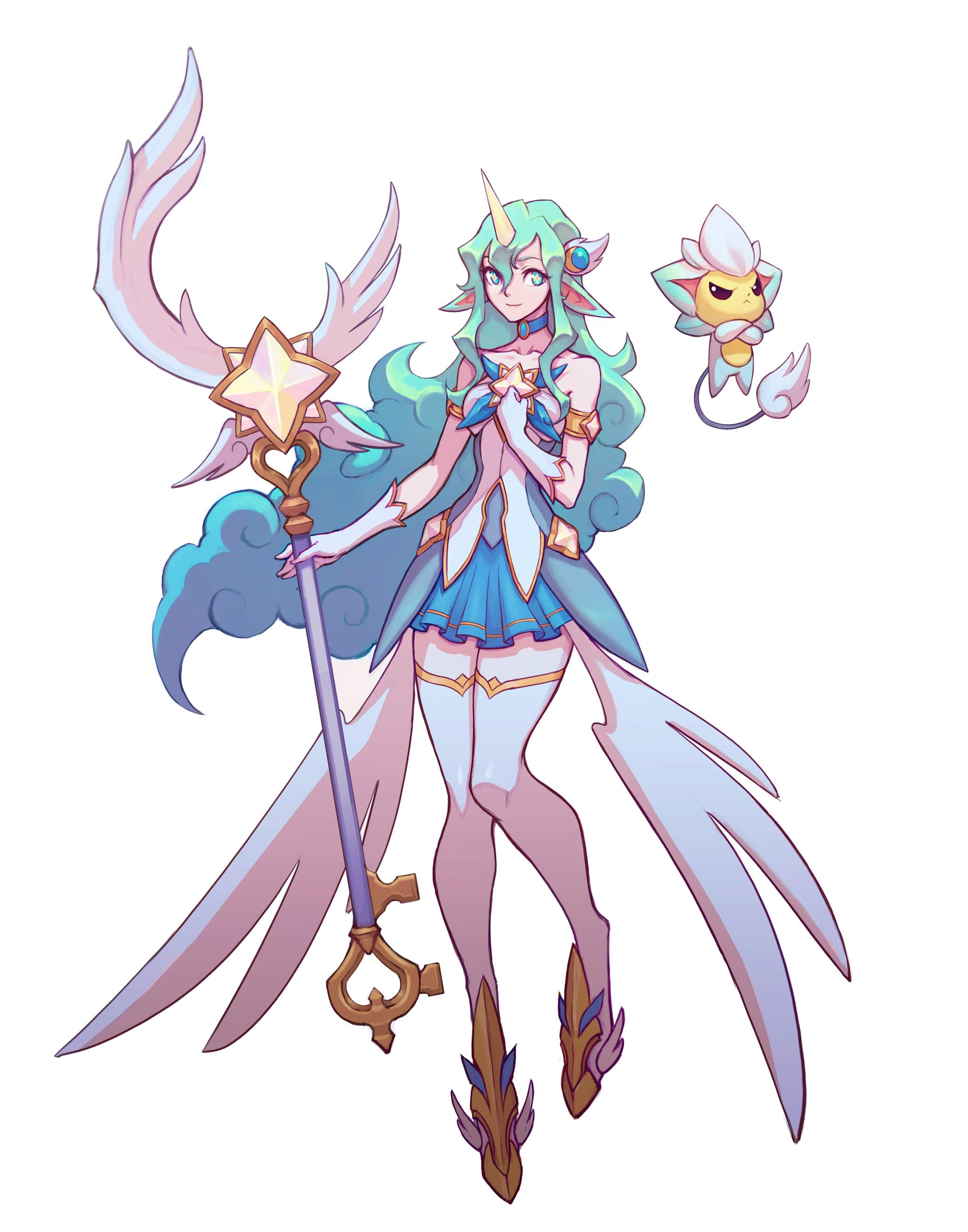 Star Guardian Soraka Final Concept