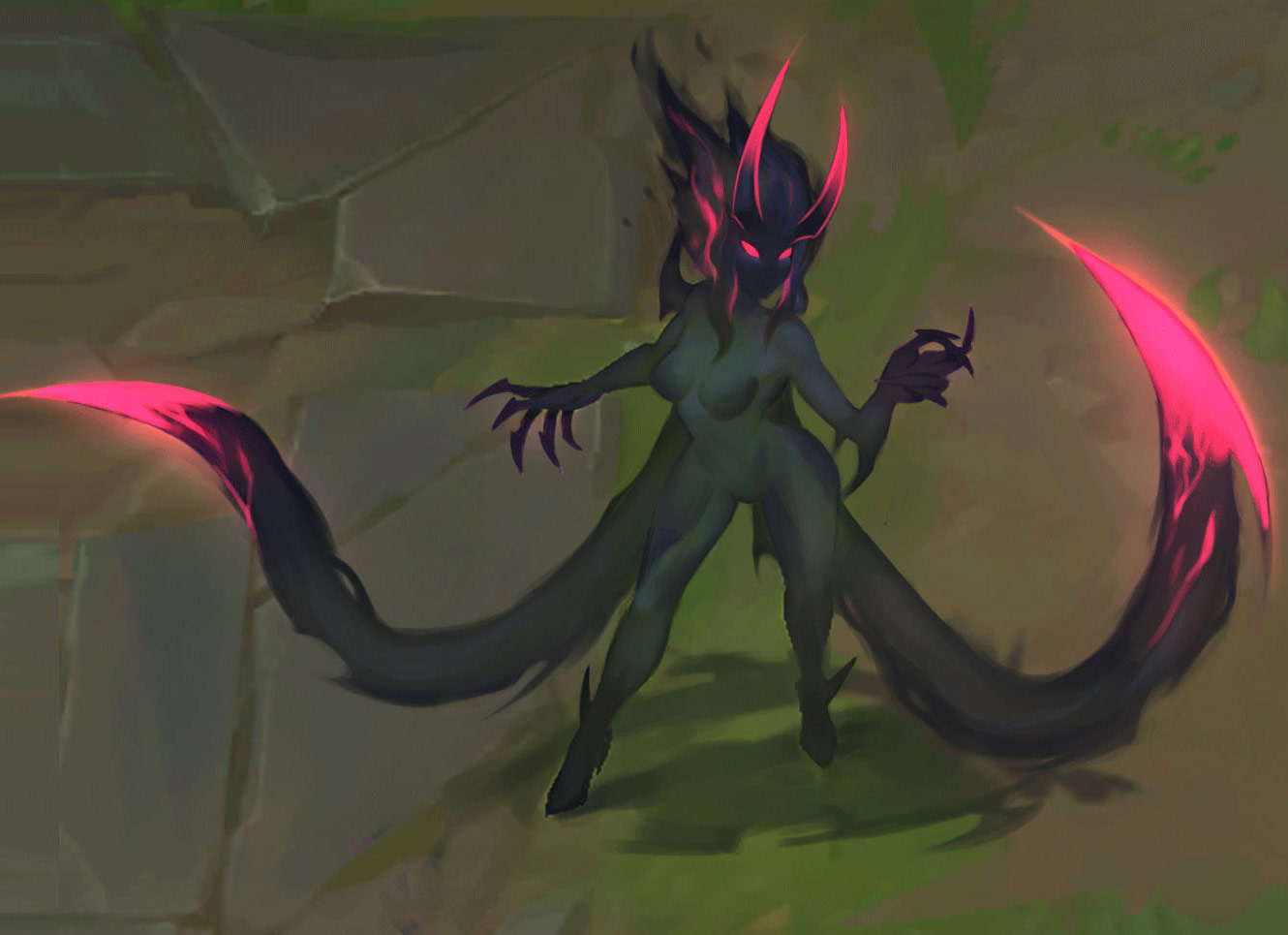 Demon Shade Concept Art