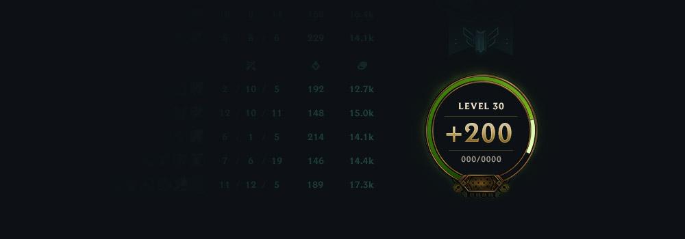 dev: The Visual Design of League Leveling – Nexus