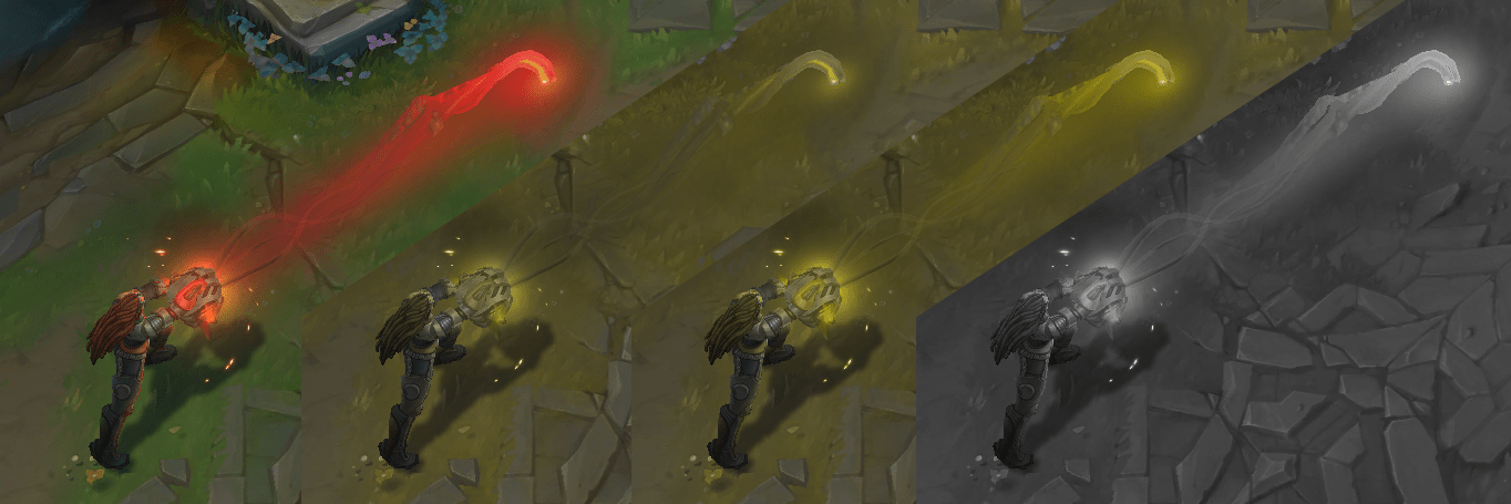 Color Blindness and Desaturation Test After Improvements to Illaoi's E - Test of Spirit