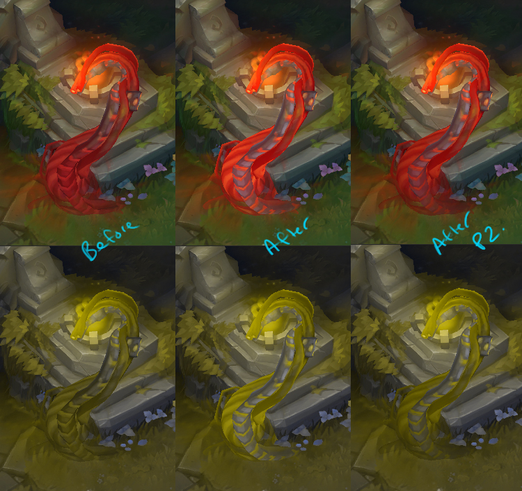 Early Color Blind Testing for Illaoi's Tentacles