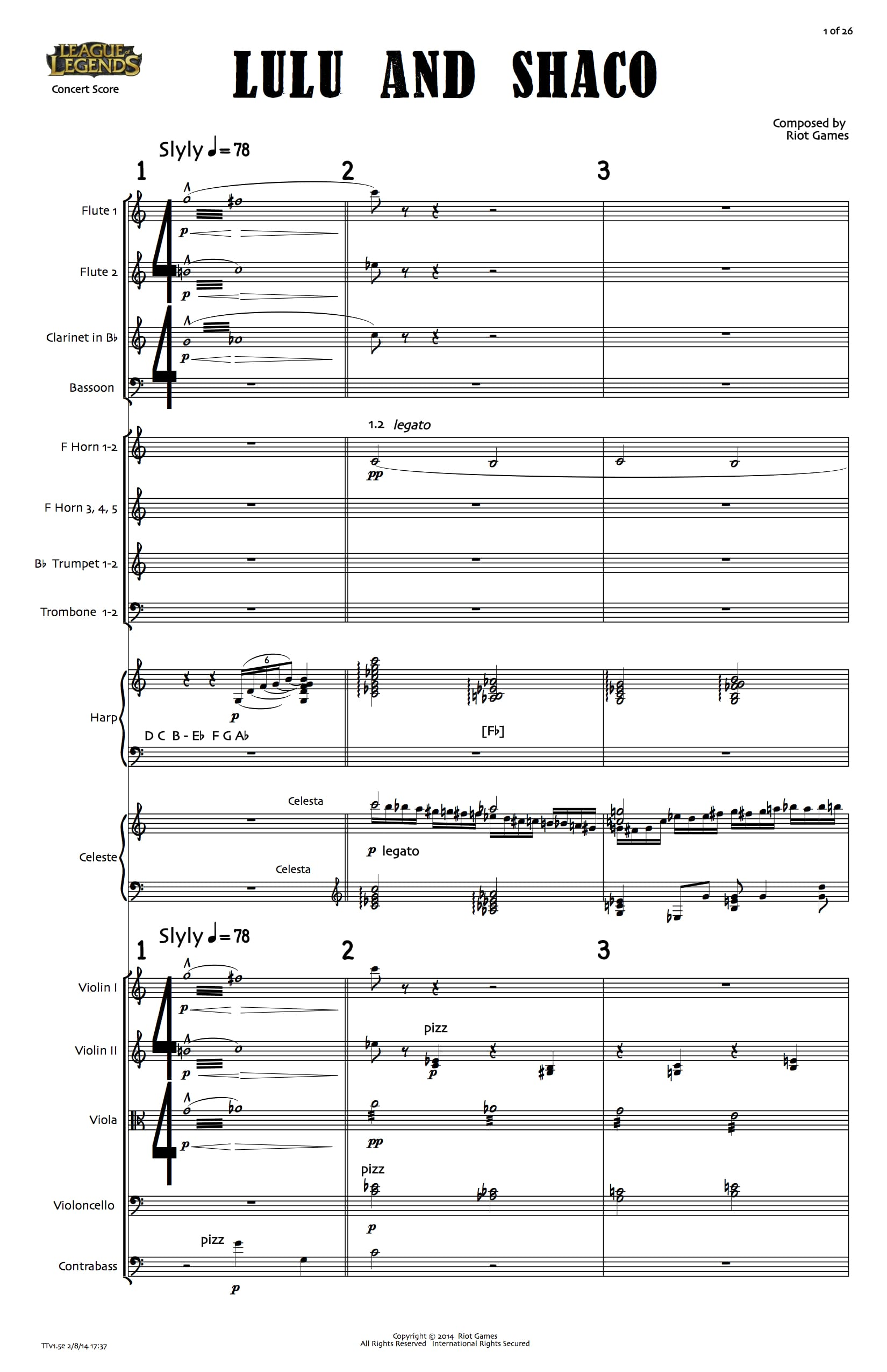 dev: Unorthodox Instruments and New Sheet Music – League of Legends