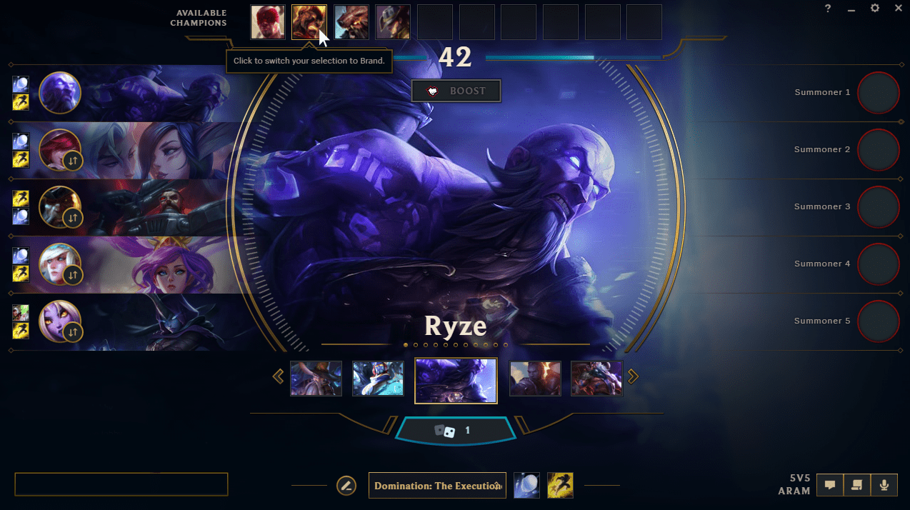 Patch 8.11 brings changes to the ARAM game mode