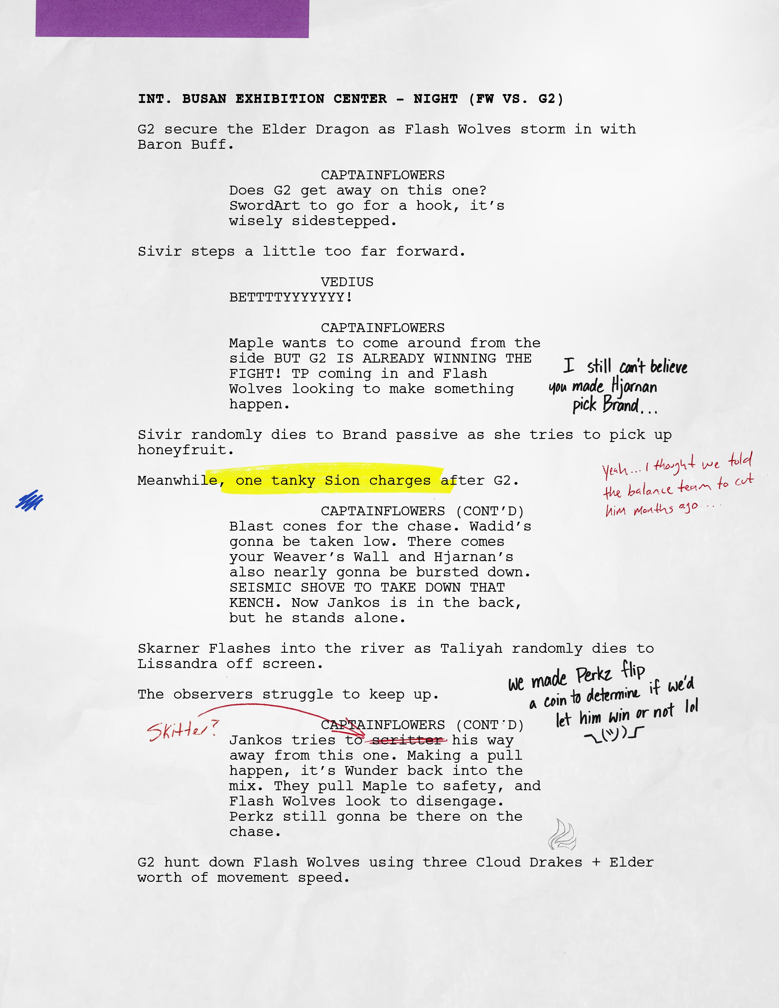 script league of legends