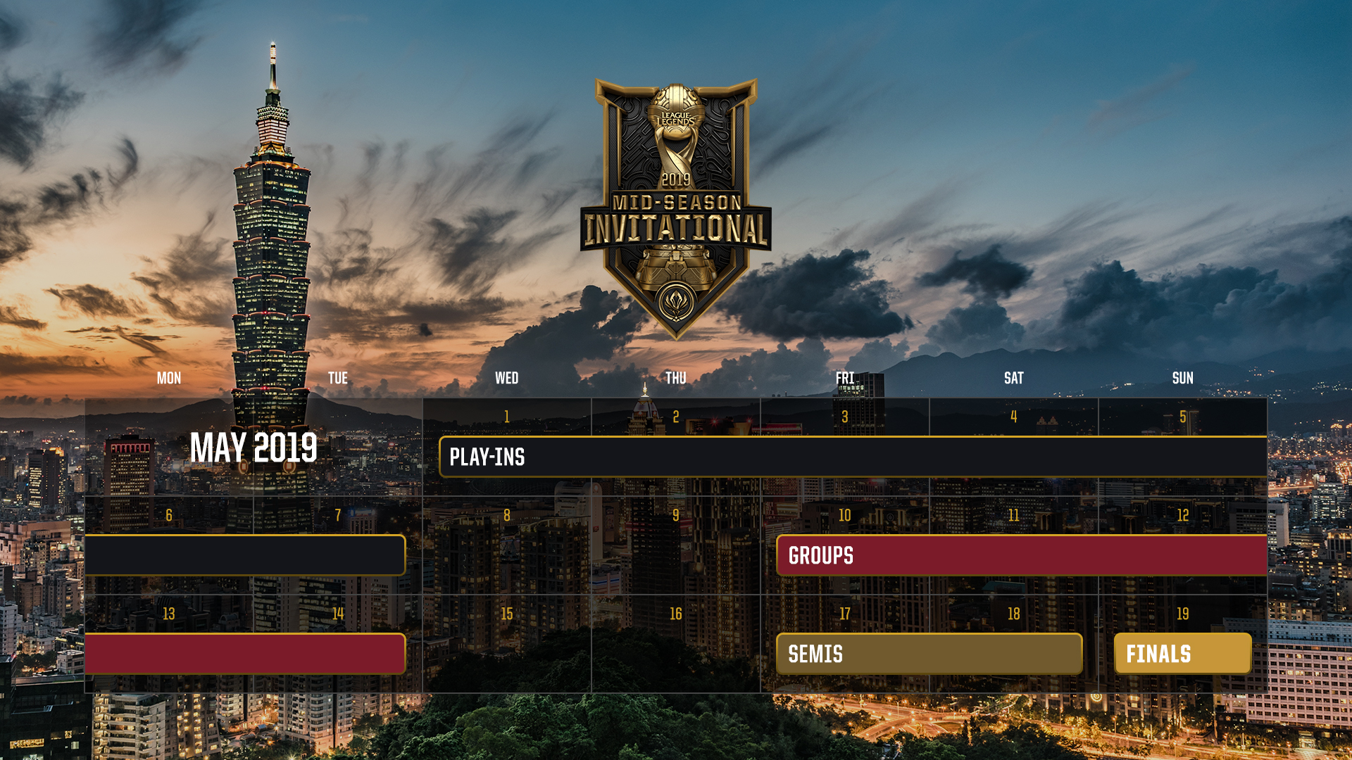 MSI 2019 Heads to Vietnam and Chinese Taipei – League of Legends