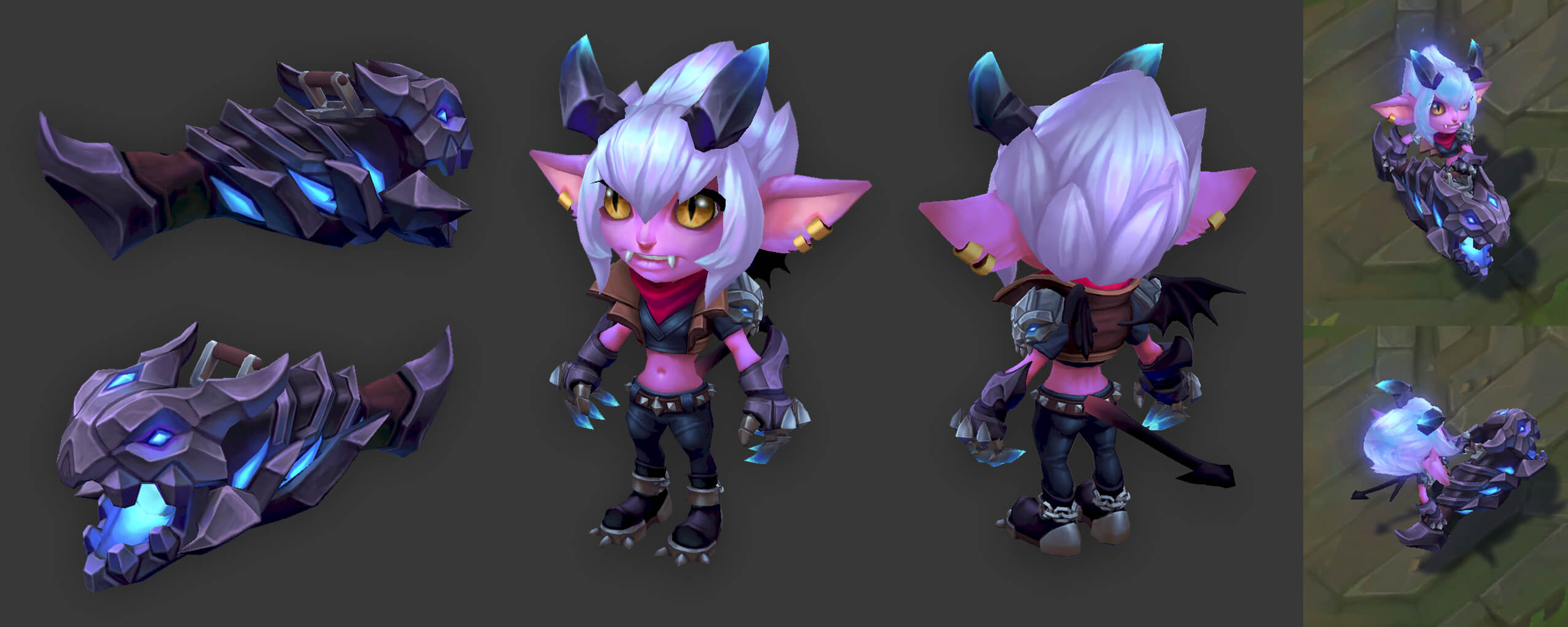 (Mostly) Final Texture for Little Demon Tristana