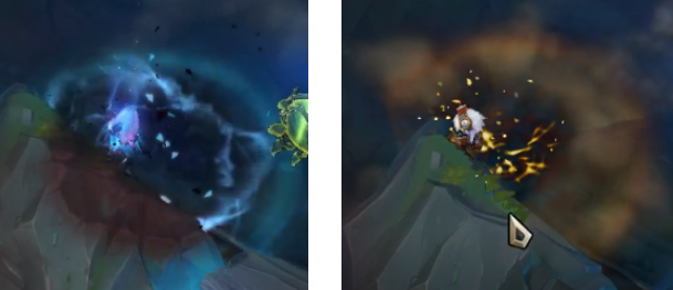 Little Demon Tristana Compared to Base Tristana