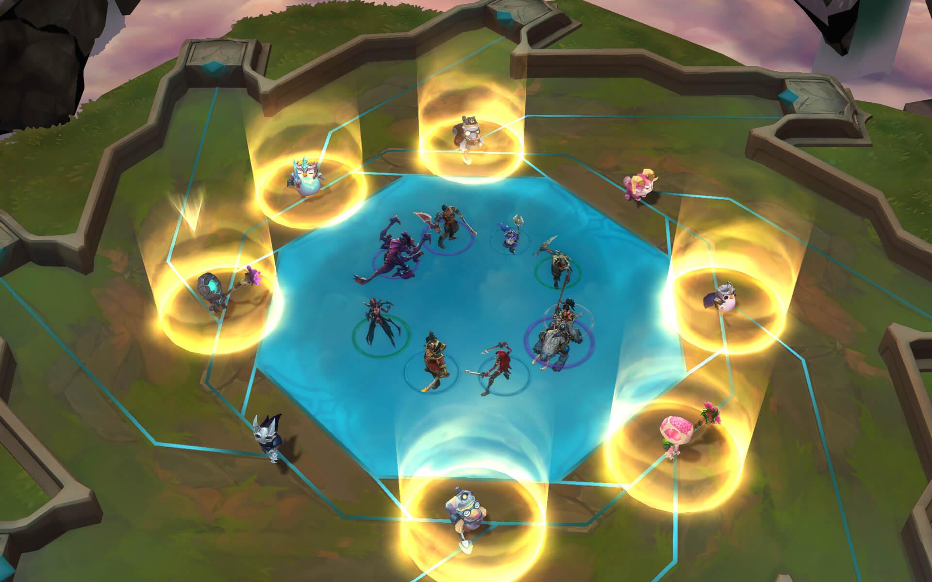 Powstała na bazie modyfikacji Defense of the Ancients (DotA) do Warcraft III.
