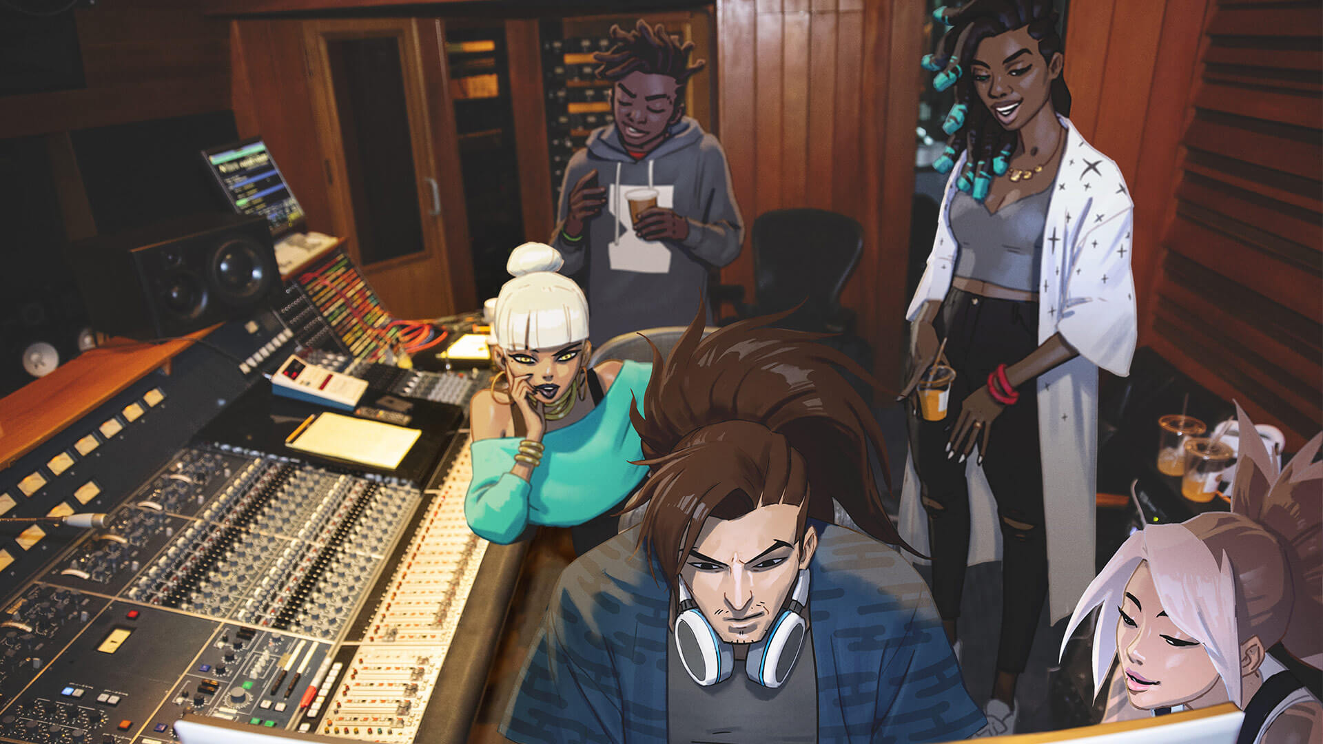 Giants Popstars Making Music With Sound Design League